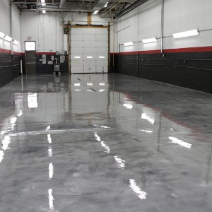 Finished Sealed And Textured Bay Floor
